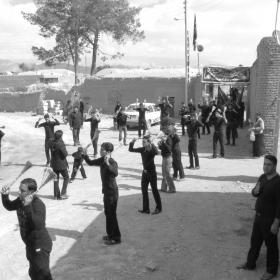 سوگواره چهارم-عکس 19-محمد صابر نژاد شاهرخ ابادی-آیین های عزاداری