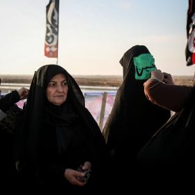 سوگواره پنجم-عکس 7-محمد حسین مددی-پیاده روی اربعین از نجف تا کربلا