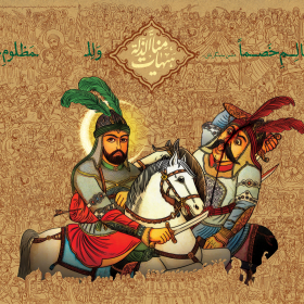 سوگواره پنجم-پوستر 4-محمد صابر شیخ رضایی-پوستر عاشورایی