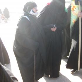 سوگواره دوم-عکس 2-محمد کشاورز-پیاده روی اربعین از نجف تا کربلا