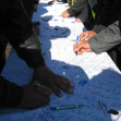 سوگواره دوم-عکس 113-محمد کشاورز-پیاده روی اربعین از نجف تا کربلا
