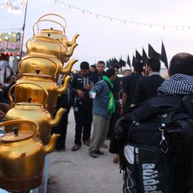 سوگواره سوم-عکس 2-امیر ورزدار-پیاده روی اربعین از نجف تا کربلا