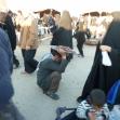 سوگواره دوم-عکس 10-حسین مذنب-پیاده روی اربعین از نجف تا کربلا