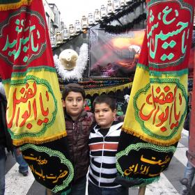 سوگواره چهارم-عکس 28-احمدرضا کریمی-آیین های عزاداری