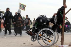 سوگواره پنجم-عکس 94-رسول مختاری-پیاده روی اربعین از نجف تا کربلا