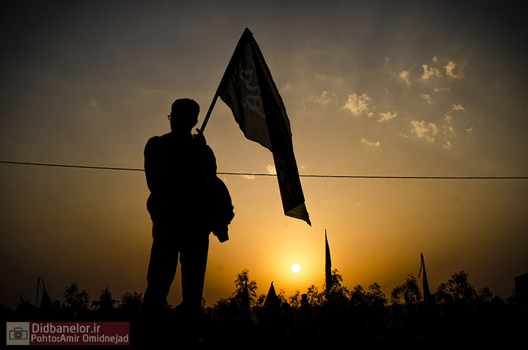 سوگواره سوم-عکس 33-امیر امیدنژاد-پیاده روی اربعین از نجف تا کربلا