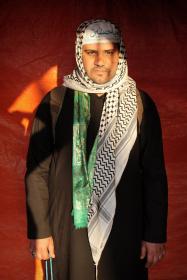 سوگواره سوم-عکس 100-حسین استوار -پیاده روی اربعین از نجف تا کربلا