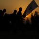سوگواره چهارم-عکس 20-حسین رضائی فرد-پیاده روی اربعین از نجف تا کربلا