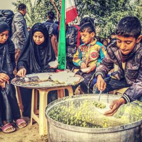 سوگواره چهارم-عکس 17-مسلم محمدی-پیاده روی اربعین از نجف تا کربلا