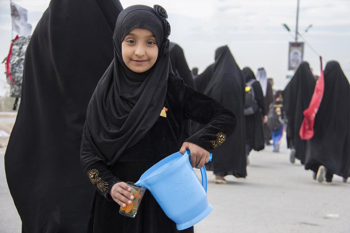 سوگواره چهارم-عکس 22-علی معصومی-پیاده روی اربعین از نجف تا کربلا