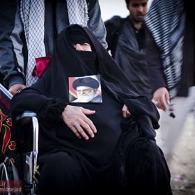 سوگواره سوم-عکس 43-امیر امیدنژاد-پیاده روی اربعین از نجف تا کربلا