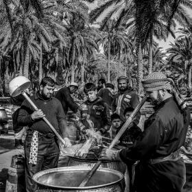 سوگواره چهارم-عکس 16-مجید حجتی-پیاده روی اربعین از نجف تا کربلا