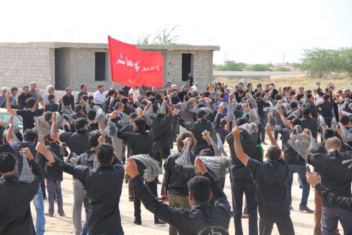 سوگواره سوم-عکس 3-صالح پورسالم-آیین های عزاداری
