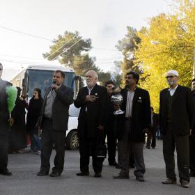 سوگواره چهارم-عکس 69-علی دهقان-پیاده روی اربعین از نجف تا کربلا