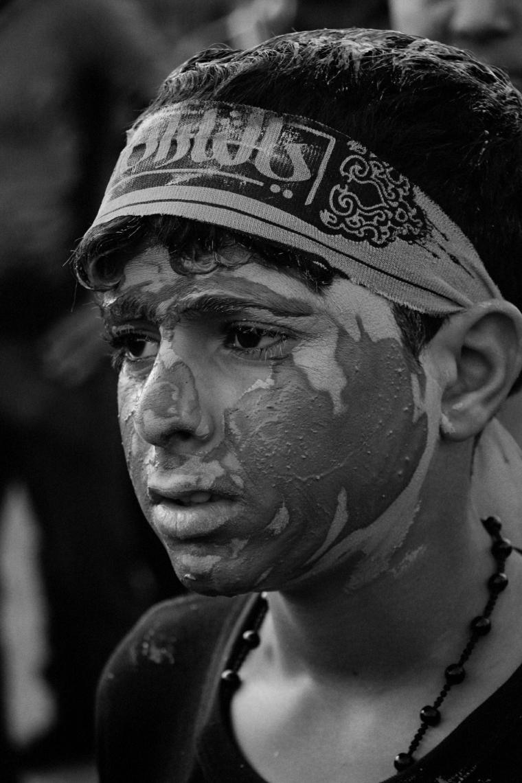سوگواره سوم-عکس 27-محمد شاه علی-پیاده روی اربعین از نجف تا کربلا