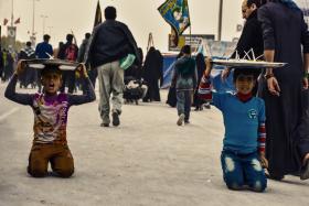 سوگواره پنجم-عکس 6-مرتضی شادور-پیاده روی اربعین از نجف تا کربلا