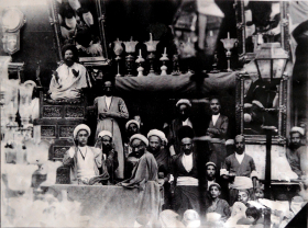 سوگواره دوم-عکس 1-سید محمد هادی اعرابی-جلسه هیأت یادبود