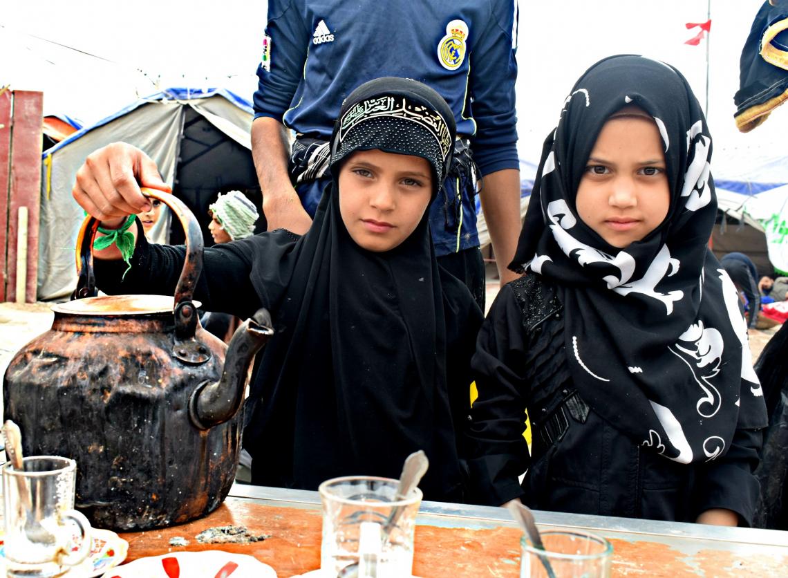 سوگواره پنجم-عکس 48-محمد حسین صادقی-پیاده روی اربعین از نجف تا کربلا