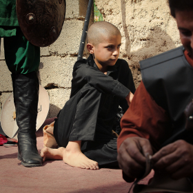 سوگواره سوم-عکس 9-حسین استوار -آیین های عزاداری