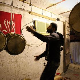 سوگواره سوم-عکس 123-حسین استوار -آیین های عزاداری