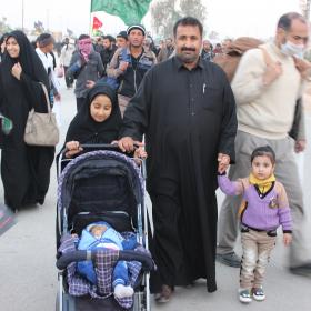 سوگواره سوم-عکس 15-امیر ورزدار-پیاده روی اربعین از نجف تا کربلا