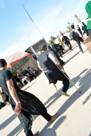 سوگواره سوم-عکس 25-مجید فریدونی-پیاده روی اربعین از نجف تا کربلا
