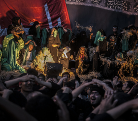 سوگواره چهارم-عکس 15-کیوان جعفری-آیین های عزاداری