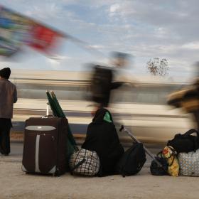 سوگواره چهارم-عکس 30-علی  حسن زاده-پیاده روی اربعین از نجف تا کربلا