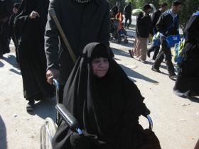 سوگواره دوم-عکس 92-محمد کشاورز-پیاده روی اربعین از نجف تا کربلا