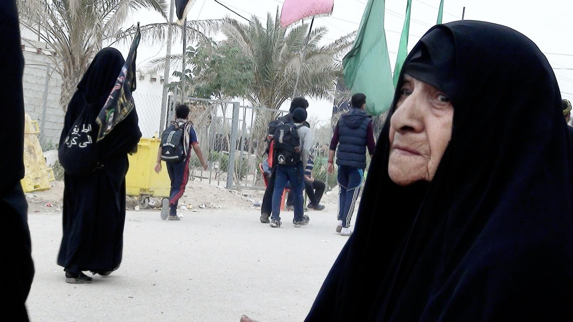 سوگواره پنجم-عکس 12-امیر چراغ ملایی-پیاده روی اربعین از نجف تا کربلا
