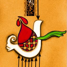 سوگواره پنجم-پوستر 4-سحر  رضاییه زاد-پوستر عاشورایی