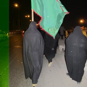 سوگواره دوم-عکس 26-سید صالح پورمعروفی-پیاده روی اربعین از نجف تا کربلا