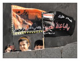 سوگواره دوم-عکس 15-حمید رضا حبیبی محب سراج-جلسه هیأت فضای داخلی