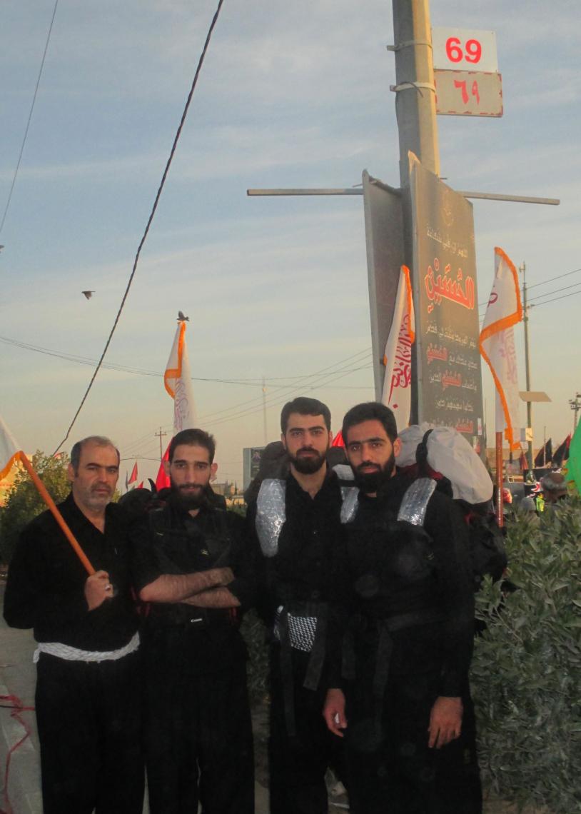 سوگواره سوم-عکس 3-حسین شمس-پیاده روی اربعین از نجف تا کربلا