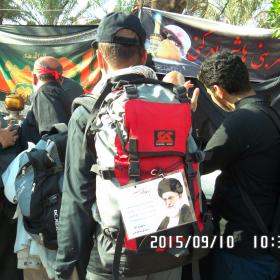 سوگواره چهارم-عکس 62- احمد عسگری زاده-پیاده روی اربعین از نجف تا کربلا