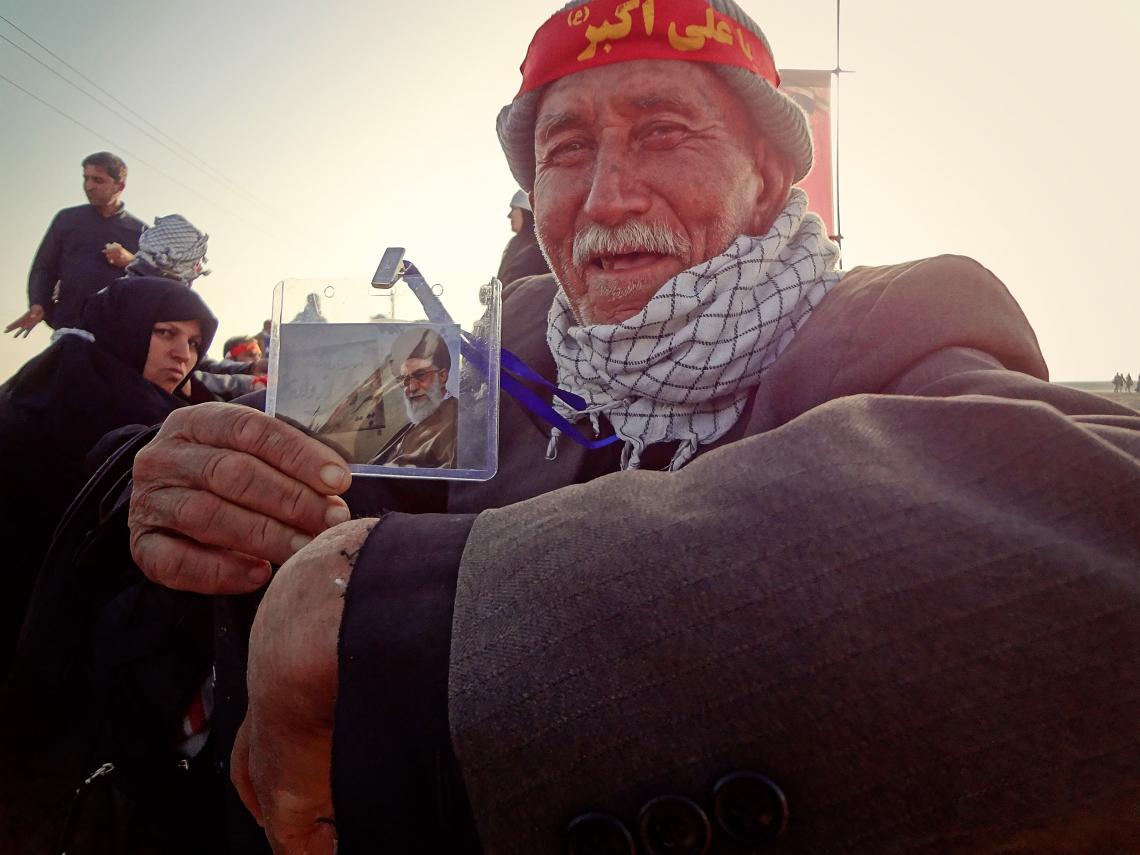سوگواره سوم-عکس 52-حسین استوار -پیاده روی اربعین از نجف تا کربلا