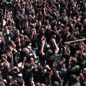 سوگواره چهارم-عکس 36-محمد صابر نژاد شاهرخ ابادی-آیین های عزاداری