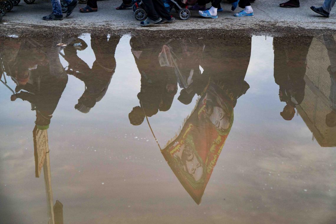 سوگواره پنجم-عکس 59-علی  حسن زاده-پیاده روی اربعین از نجف تا کربلا