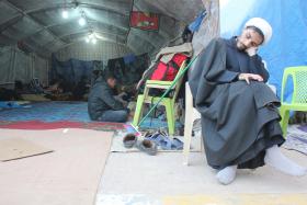 سوگواره چهارم-عکس 13-علی هاشمی-پیاده روی اربعین از نجف تا کربلا