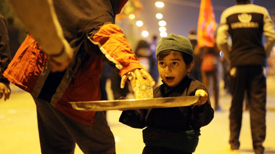 سوگواره پنجم-عکس 69-رسول مختاری-پیاده روی اربعین از نجف تا کربلا