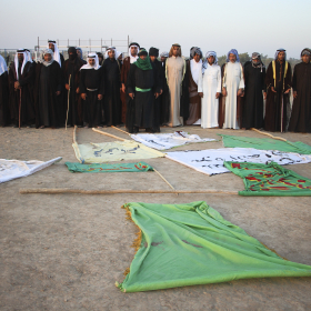 سوگواره پنجم-عکس 36-محمد  آهنگر-پیاده روی اربعین از نجف تا کربلا