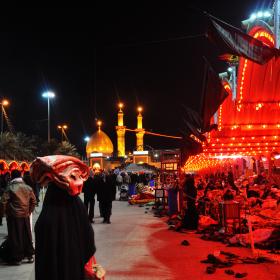 سوگواره چهارم-عکس 44-محمد علیپور شهیر-پیاده روی اربعین از نجف تا کربلا