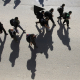 سوگواره پنجم-عکس 24-جابر غلامی-پیاده روی اربعین از نجف تا کربلا