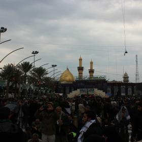 سوگواره سوم-عکس 13-امیر ورزدار-پیاده روی اربعین از نجف تا کربلا