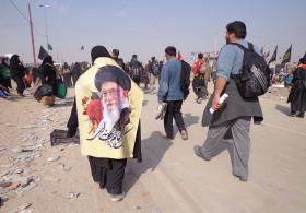 سوگواره سوم-عکس 28-علی مقنی-پیاده روی اربعین از نجف تا کربلا