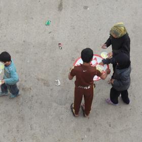 سوگواره سوم-عکس 2-محمد  آهنگر-پیاده روی اربعین از نجف تا کربلا