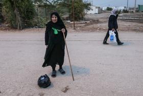 سوگواره سوم-عکس 97-روح اله پورسامانی-پیاده روی اربعین از نجف تا کربلا