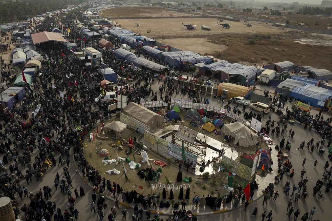 سوگواره پنجم-عکس 3-یحیی محمد علیی-پیاده روی اربعین از نجف تا کربلا