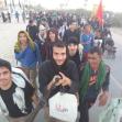 سوگواره پنجم-عکس 5-امین برزعلی-پیاده روی اربعین از نجف تا کربلا