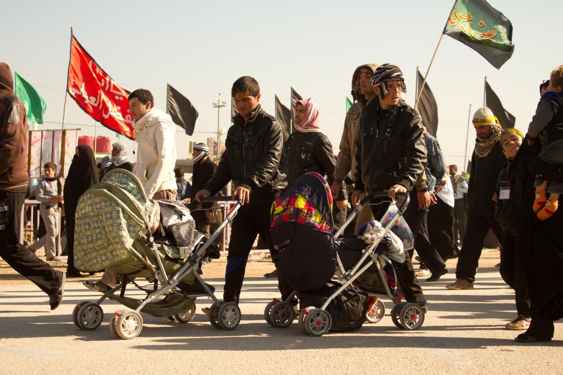 سوگواره سوم-عکس 3-محمد حسین ابراهیمی ورکیانی-پیاده روی اربعین از نجف تا کربلا
